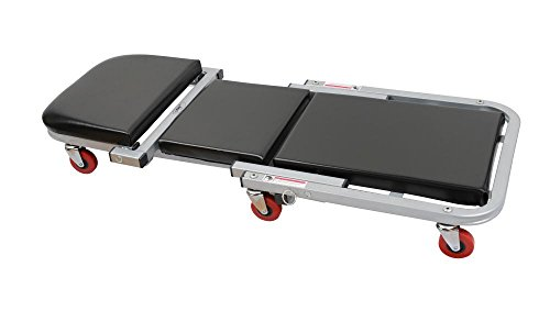 Preisvergleich Produktbild TrendLine Werkstattliege Montagerollliege und Hocker Belastbarkeit 135 kg