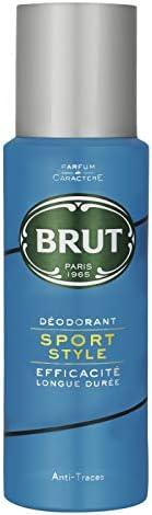 Brut Sport Style Deodorant Body Spray For Men, Citrus, 200 ml