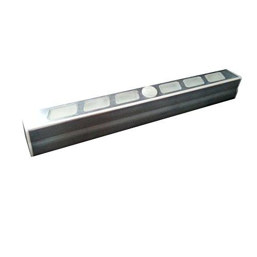 Müller-Licht LED Accessoires, LED Leuchte Stab mit Bewegungs Melder inklusive 3xAAA, alu 57015
