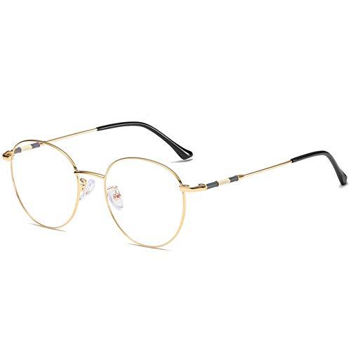 JJHR Sonnenbrillen Runde Brillengestell Art Flat Mirror Männer Und Frauen Können Mit Einem Spiegelglasrahmen Ausgestattet Werden