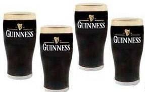 Guinness Surger Gläser, 6er SET 0,3 LITER