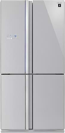 Sharp SJ-FS810VSL - frigo américain (Autonome, Argent, Porte française, A+, SN, T, Bas)