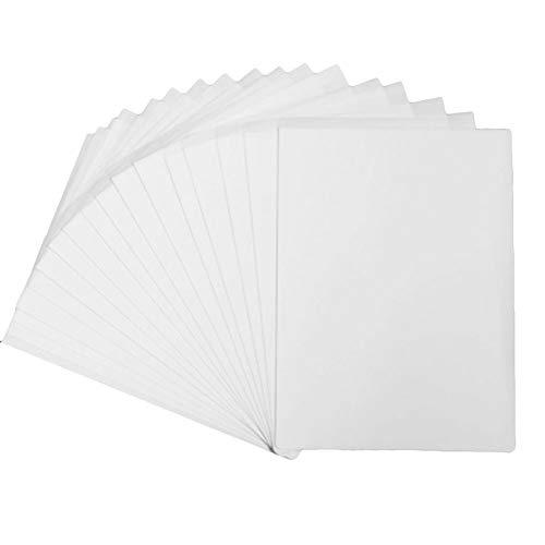 Yeelan Transferpapier-Inkjet-T-Shirt zum Aufbügeln, helle Kleidung und Kopiermuster auf Polyestergewebe (A4, 210 x 297 mm, 100 Blatt) -