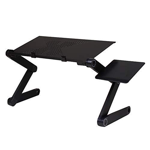 Dalun Fan Heat Dissipation Desk Riser Klapptisch Free Stand-Up Computer Laptop Workstation Installation Höhenverstellbarer Sit-Stand-Konverter -