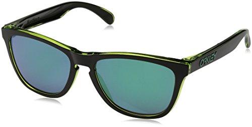 Oakley Herren Frogskins 9013A8 55 Sonnenbrille, Grün (Eclipse Green/Jadeiridium),