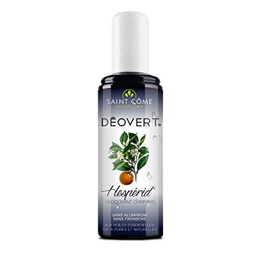 Aroma Spray - Deovert Hesperid' - Déodorant Corporel - Aux Huiles Essentielles 100% Pures Et Naturelles - 100 Ml