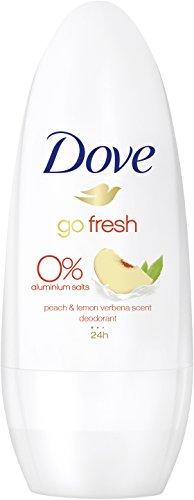 Desodorante Dove Roll-On Go Fresh melocotón limón