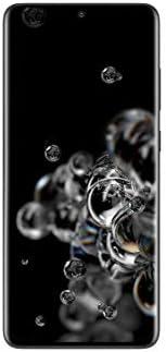 هاتف سامسونج جالكسي اس 20 الترا ثنائي شرائح الاتصال - 128 جيجا وذاكرة رام 12 جيجا من الجيل الخامس - لون اسود