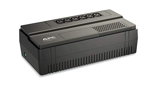 APC Easy-UPS BV - BV1000I - Unterbrechungsfreie Stromversorgung 1000VA (AVR, 6 IEC Ausgänge) -