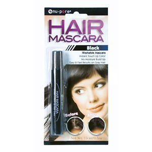 Hair Mascara Instant Touch up Color Fast Results on Gray Hair by Alphagamma