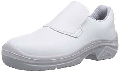 MTS Sicherheitsschuhe M-White Luna S2 15209, Unisex-Erwachsene Sicherheitsschuhe, Weiß (Weiß), 36 EU