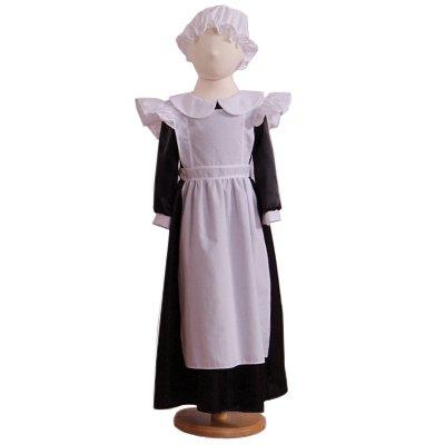 Millie Maid (Victorian or Edwardian) Deluxe - Kids Costume 6 - 8 (Kostüme Victorian Edwardian)