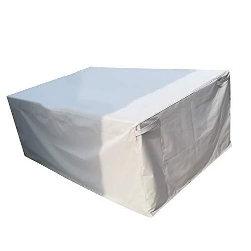 GDMING-Gartenmöbel Abdeckung abdeckplane Schutzhülle Für Draussen Tisch Und Stuhl Wasserdicht Schwerlast Träger Oxford-Stoff , 22 Größen, 3 Farben (Color : Gray, Size : 60x60x60cm) (Pool-abdeckung, Lagerung)