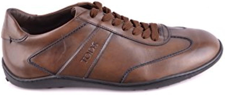 Tod's Herren MCBI293243O Braun Leder Sneakers