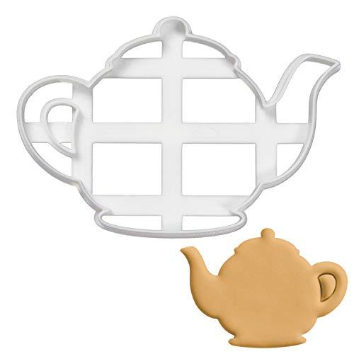Bakerlogy Teekanne Ausstechform, 1 Teil, Ideal für die selbstgestaltete Teeparty