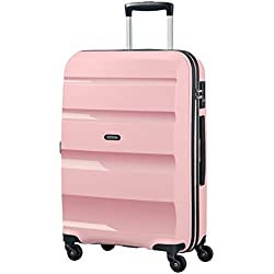 American Tourister Bon Air - Spinner Medium Bagage Cabine, 66 cm, 57.5 liters, Rose (Cherry Blossoms)