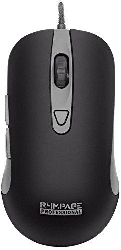 R4mpage RP-11000 Pro Professionelle Gaming Maus mit 6 programmierbare Taste