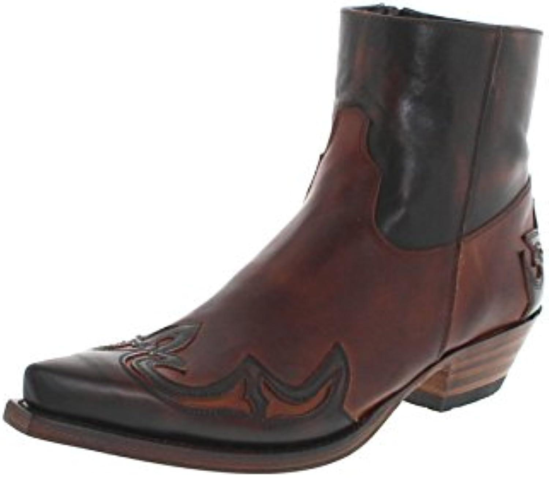 Sendra Boots Samuel 14379 Marron Tang/Herren Westernstiefelette Braun/Cowboystiefelette/HerrenstiefeletteSendra Boots Westernstiefelette Cowboystiefelette Herrenstiefelette