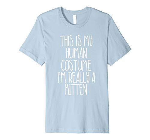 (Halloween-Kostüm für Kätzchen einfach Shirt für Mädchen Jungen)