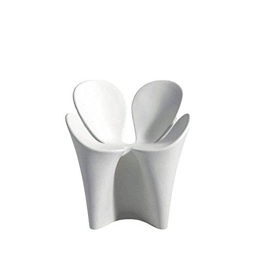 Driade Clover Outdoor Armlehnstuhl - weiß - Ron Arad - Design - Gartenstuhl