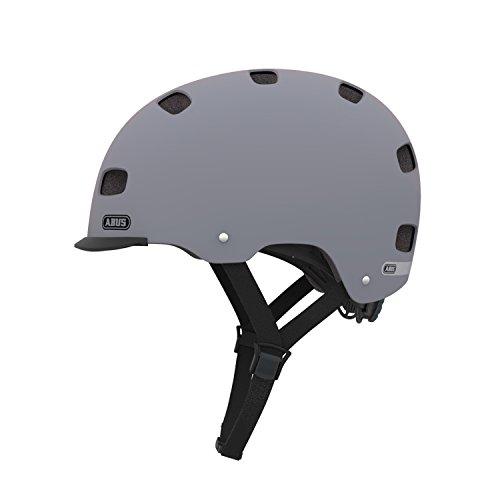 Abus Unisex Fahrradhelm Scraper V.2, Grau (concrete grey), 58-63 cm (Herstellergröße: L)
