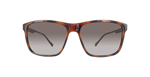 BOSS Orange Herren BO 0163/S HA 8XL Sonnenbrille, Braun (Dark Havana/Brown Gradient), 58