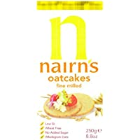 Nairns - Oatcakes - Fine Milled - 218g (Case of 12)