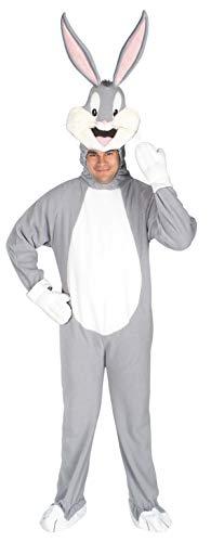 Original Lizenz Bugs Bunny Kostüm Warner Bros Loony Tunes schlau klug verwitzt Hase videospiel Spiel Gameboy Cartoon Trickfilm Trick-Film Gr. - Game Boy Kostüm