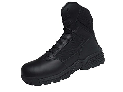 Magnum Stealth Force 8.0 Boots Outdoor Leder Security Armee Stiefel (48, schwarz)