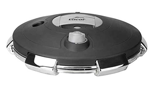 Lacor 50934 Deckel für Schnellkochtopf, Metall