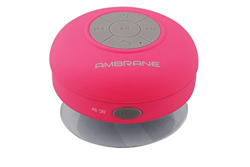 Ambrane Portable Bluetooth Speaker BT-3000 Pink  available at amazon for Rs.499
