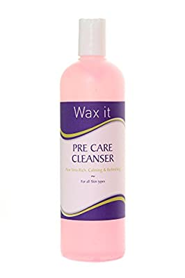 Wax It 500ml Aloe Vera Pre Care Waxing Cleanser