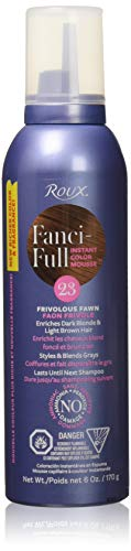 Roux Fanci-Full Mousse, 23 Frivolous Fawn, 6 Fluid Ounce by Roux -