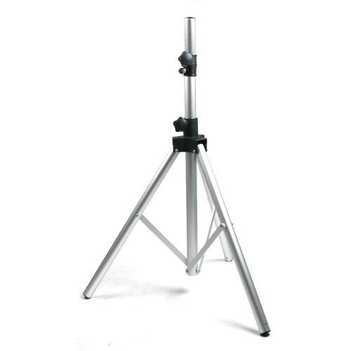 ToCi Technik - Treppiedi in alluminio per antenna parabolica fino a 90 mm, ideale per camping e balcone