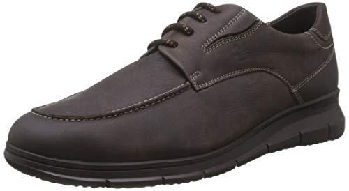 24 HORAS 10730, Zapatos Cordones Brogue Hombre, Marron