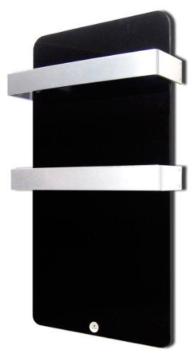 Haverland XTAL4N - Radiador secatoallas eléctrico 400W, color negro