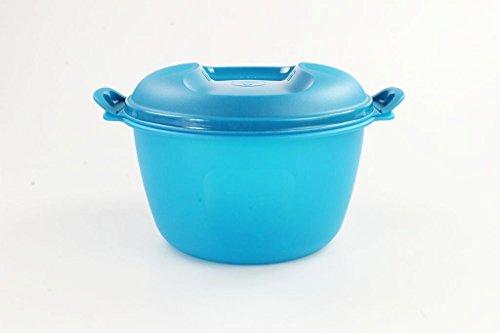 TUPPERWARE Mikrowelle Reis-Meister 3,0 L blau großer Reiskocher Mikro Micro 16630 (Mikrowellen-dampfgarer Für Reis)