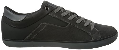 Geox U Box C, Baskets Basses Homme Grau (DK GREY/BLACKC0062)