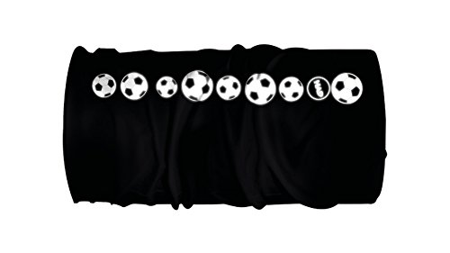 HAD Reflectives Junior Soccer Reflective Black Eyes - JM Multifunktionstuch Schlauchtuch