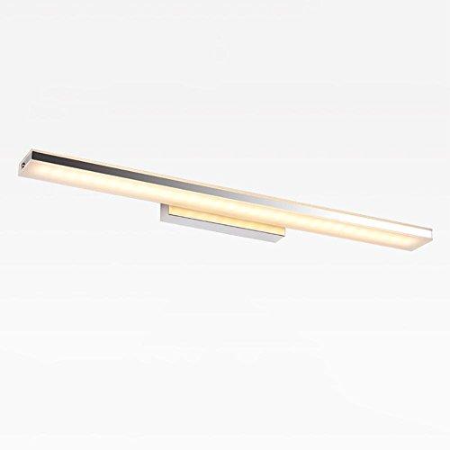 XXQ Spiegellampen LED Frontspiegel Licht Badezimmer Make-up Wandlampen Vanity Wc Wand Montiert Wandlampen Beleuchtung, 60cm -