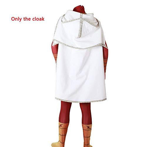 Mann Thunder Kostüm - HEROMEN Golden Thunder Shazam Kostüm Halloween Weihnachten Cosplay Lycra Enges Kostüm - 3D Digitaldruck,G-L