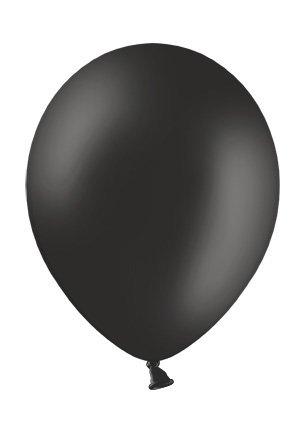 Twist4 50 Premium Luftballons - Made in EU - 100{91358563980aad1394ea5b829604a9a8412bfffa3a8e8144d5b80ca6f9621071} Naturlatex somit 100{91358563980aad1394ea5b829604a9a8412bfffa3a8e8144d5b80ca6f9621071} giftfrei und 100{91358563980aad1394ea5b829604a9a8412bfffa3a8e8144d5b80ca6f9621071} biologisch abbaubar - Geburtstag Party Dekoration - für Helium geeignet (Schwarz)
