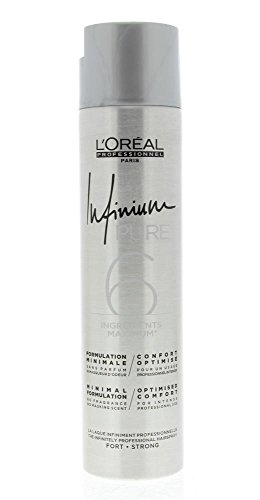 Infinium 6 Pure Strong Hairspray Loreal Professionnel 300 ml