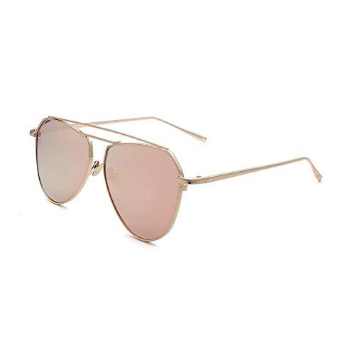 Yuany Sonnenbrille Ms Classic Retro Round Face Mirror Polarisiertes Licht Sonnenschutzdekoration Anti-UVA Anti-UV 100% (Farbe: Grau)