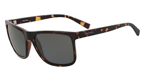 Nautica Herren N3623SP 206 58 Sonnenbrille, Dark Tortoise,