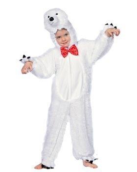 Wilbers Federbein Junior Polar Bear Kinder Kostüm (18-24Monate)