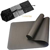 Preisvergleich für JullyeleDEgant Geschmacklose nbr Faltbare Yoga Matte übung Pad Boden spielmatte + Strap + Net Tasche für Gym klasse Workout Gymnastik liefert