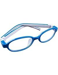 De Ding - Montura de gafas - para niña multicolor Dark Blue White