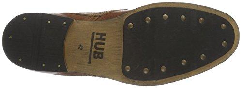 Hub Spurs L80, Derby homme Braun (Cognac 019)