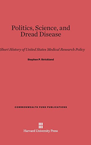 Politics, Science, and Dread Disease: A Short History of United States Medical Research Policy (Commonwealth Fund Publications, Band 36)